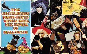 E20 Halloween Holiday Postcard 1986 Chrome Hazel Leler Houston Tx