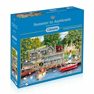 Gibsons-Jigsaw-Puzzle-SUMMER-IN-AMBLESIDE-1000-Pieces