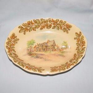 ROYAL-DOULTON-Old-English-Inns-OVAL-bowl-The-Bears-Head-BRERETON-D6072