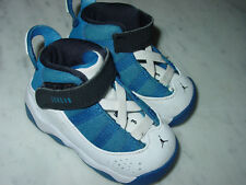 530a73a4033fc6 2016 Nike Air Jordan 6 Rings Team Royal Black White Toddler Shoes! Size