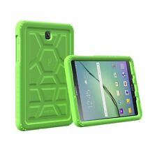 Poetic Turtle Skin Air Bumper Silicone Case for Samsung Galaxy Tab S2 8.0 Green