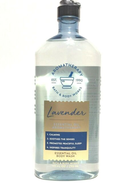 Bath and Body Works Aromatherapy Lavender Wash & Foam Bath 10 oz