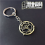 Fullmetal-Alchemist-Ouroboros-Alloy-Metal-keychain-of-Snake-Sign-Circle-of-Power miniature 3