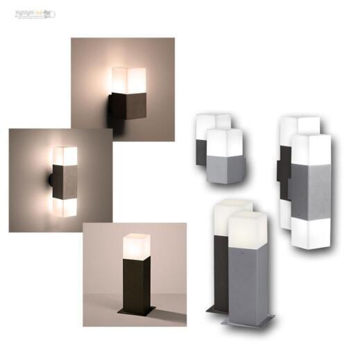 """LED Luci esterne /""""Hudson/"""" Bianco Caldo Lampada esterna illuminazione casa illuminazione da giardino"""