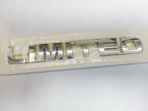 OEM LIMITED Emblem Rear Trunk Fit KIA 2011-2013 Sorento R GENUINE Parts