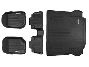 Maxliner-2011-2013-Fits-Jeep-Wrangler-Unlimited-4-Door-Floor-Mats-Maxtray-Black