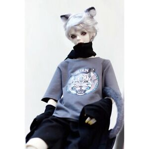 4 Colors T Shirt  For 1//3 AOD SD17 DZ70  Doll Dollfie Outfit