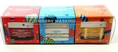 BRAND NEW Kiehl/'s Since 1851 3-pc a luxurious collection Merry Masking set