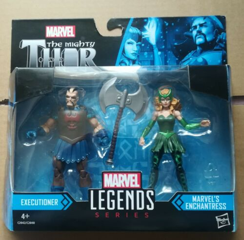 THE MIGHTY THOR EXECUTIONER /& ENCHANTRESS BNIB AGES 4+ MARVEL