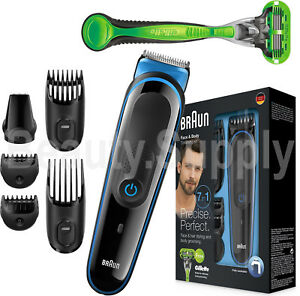 Braun-Multi-Grooming-Kit-MGK3040-7in1-Face-Beard-Body-Hair-Trimmer-GilletteRazor
