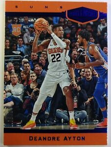 2018-19 Panini Chronicles Blue Deandre Ayton Plates and Patches #379, #'d /99