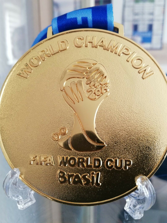 FIFA WM 2014 Brasilien Weltmeister-/Goldmedaille, Top-Qualität, Deutschland