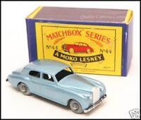 Matchbox Moko Lesney 44a Rolls Royce Silver Cloud In Original Box 1958