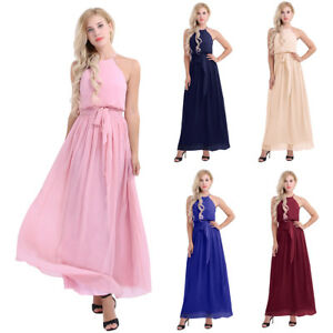 Women-Bridesmaid-Chiffon-Ball-Prom-Gown-Formal-Evening-Party-Cocktail-Long-Dress