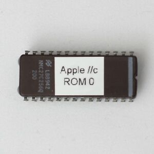 Apple //c IIc ROM 0 DIY Upgrade from ROM 255 EEPROM Chip | eBay