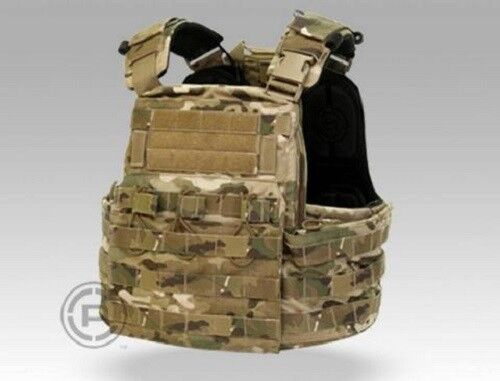 Crye Precision CPC Cage Plate Carrier Vest w  Plate Bags - MultiCam - Medium