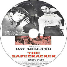 The Safecracker DVD Ray Milland Barry Jones Jeanette Sterke  Rare1958