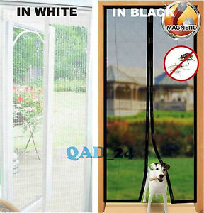 Image is loading MAGIC-Magnetic-Insect-Door-Net-Screen-Bug-Mosquito- & MAGIC Magnetic Insect Door Net Screen Bug Mosquito Fly Insect Mesh ...