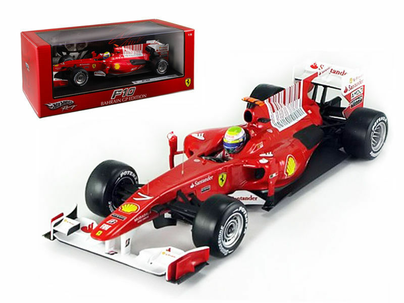 Hot Wheels Elite - 1 18 F1 Ferrari Massa F10 2010 New