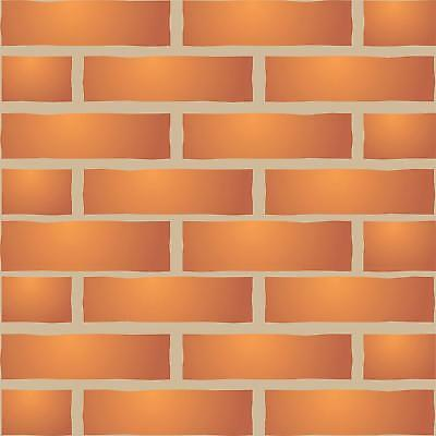Brick Wall Stencil Reusable Wall Furniture Fabric