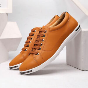 Men-Casual-Leather-Shoes-Classic-Business-Dress-Formal-Loafers-Breathable-Flats
