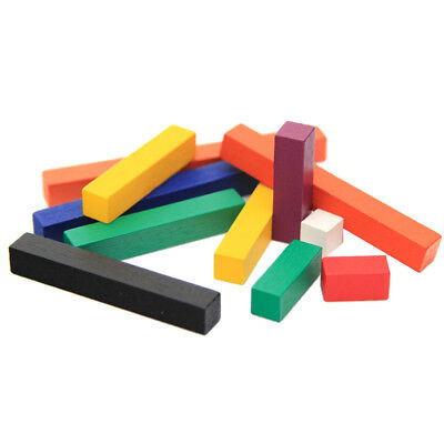 Mathematic 1-10cm Color Number Counting Stick Learning Math Montessori Toys