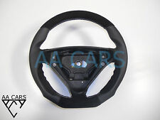 Steering Wheel Mercedes SLK C R171 W203 AMG  Flat Bottom Leather Suede