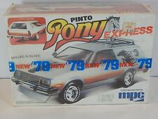 """Vintage MPC Ford Pinto Station Wagon """"PONY EXPRESS"""" 2 in 1 Model Kit"""