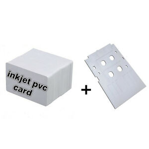 Kit Karte.Details About Inkjet Pvc Cards Starter Kit 10 Id Card 1 White Cards Container For Epson Show Original Title
