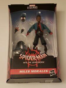 """Marvel Legends Spider-Man Spider-Verse Miles Morales 6"""" BAF Stilt Man"""