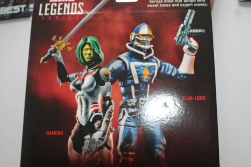 MARVEL LEGENDS Gamora /& Star-Lord 2 Pack Guardians of the Galaxy NEUF