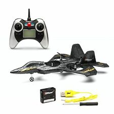 Top Race® F22 Fighter Jet 4 Channel Rc Remote Control Quad Copter (Colors Vary)
