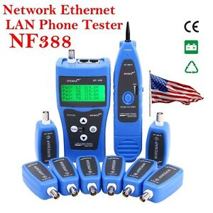 from usa nf 388 multipurpose network cable tester tracker tracer rh ebay com