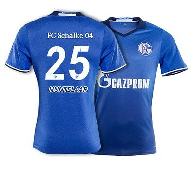 Vereinigt Trikot Adidas Schalke 04 / 2016-2017 Home - Huntelaar 25 [128-xxl] S04 Fussball