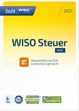 Buhl - WISO Steuer-Mac 2021 (für Steuerjahr 2020), Download (Key), Mac