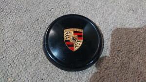 A-Porsche-356-b-c-1960-65-Original-Horn-top-button-has-small-side-damage
