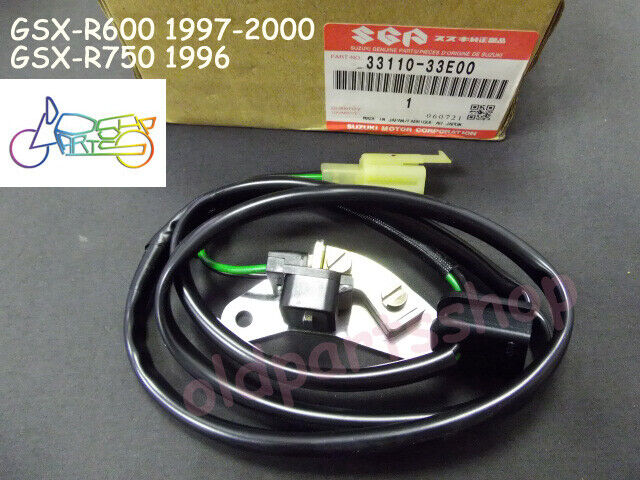 Suzuki 98 Gsxr600 Pulse Signal Generator Stator 33110-33e00 GSXR 600 JH