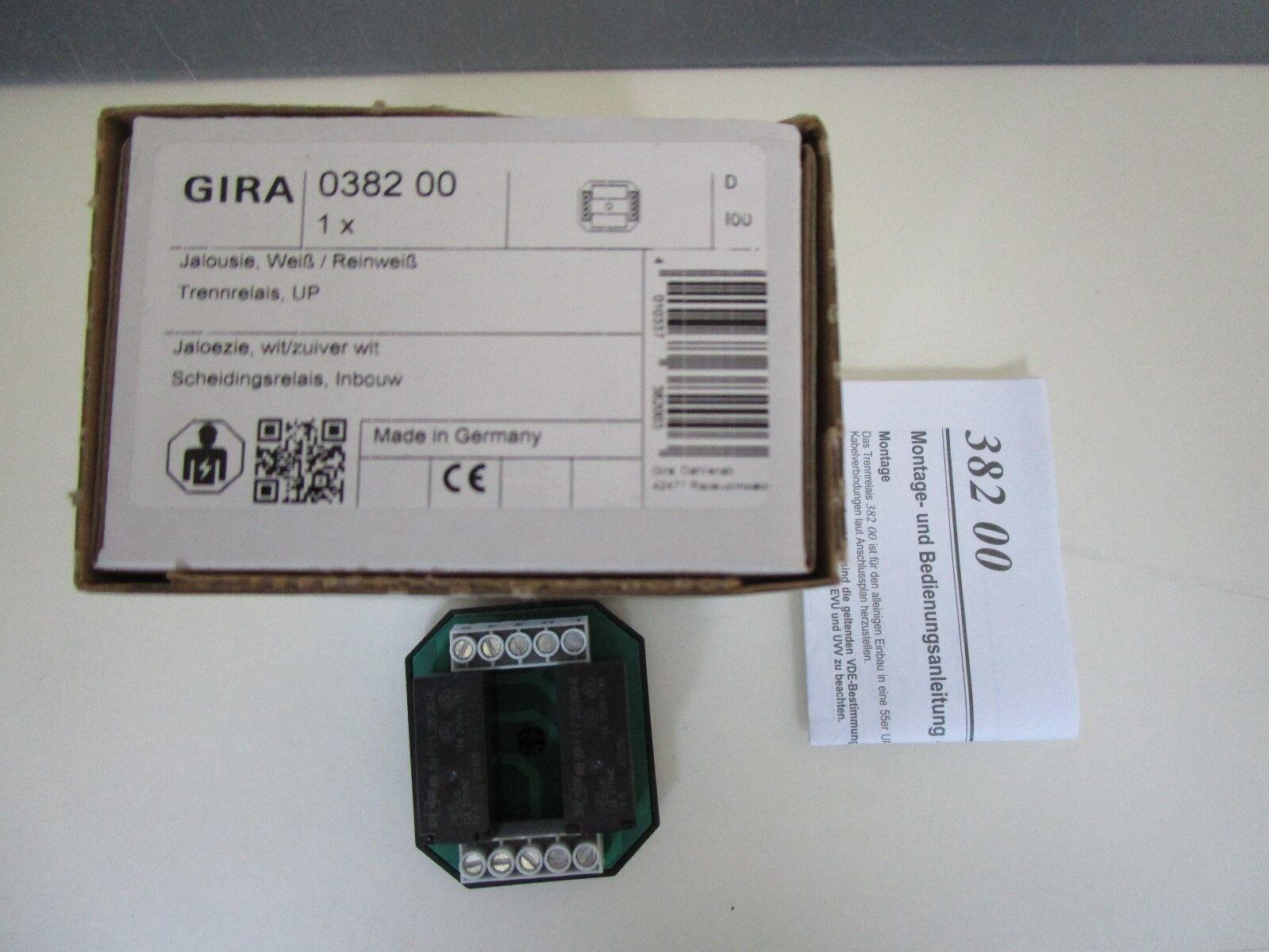 Gira 038200 Trennrelais Unterputz Jalousie  Neu OVP | Fairer Preis