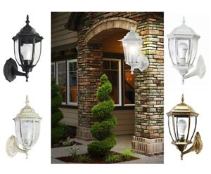 Lanterna Parete Esterno : Lanterna da giardino lampada a parete applique esterno muro bronzo