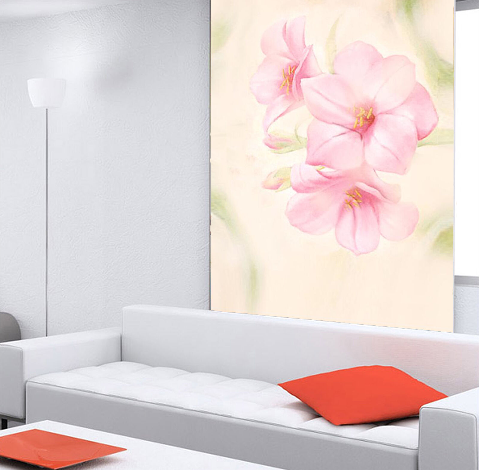 3D Pink flowers leaf 253 Wall Paper Wall Print Decal Wall Indoor Murals Wall US