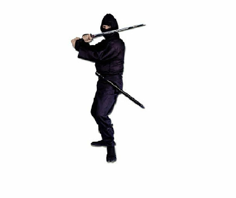 ProForce® 100%  Cotton Traditional Ninja Ninjitsu Uniform Costume Larp Cosplay  cost-effective