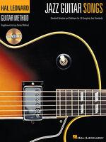 Hal Leonard Method Jazz Guitar Songs Tab Book Cd
