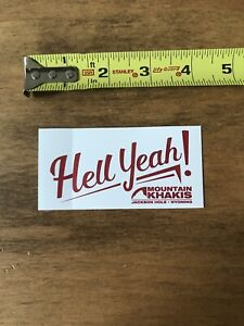 JACKSON HOLE Sticker Decal Die Cut wyoming mountain 2