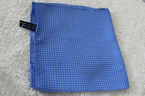 Tommy Hilfiger MENS SHOP Perfect Pre-Folded Pocket Square 100/% SILK Napkin $20