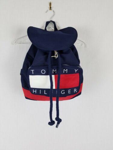 Vintage 90s Tommy Hilfiger Drawstring Backpack Boo