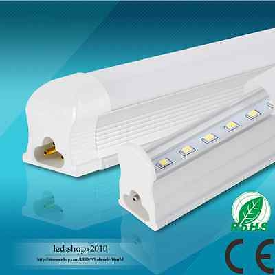 T5/T8 10W/14W/18W/24W Integrated LED Tube Light 2/3/4/5FT 110~220V With Warranty
