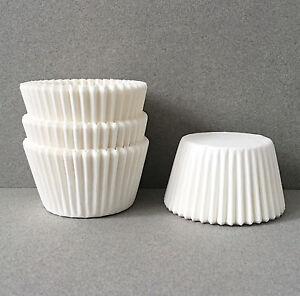 Basic White Cupcake Liners White Cupcake Wrappers White Baking