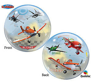 22-034-Stretchy-BUBBLE-Balloon-PLANES-DUSTY-Party-Decoration-Balloon