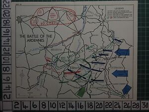 image is loading ww2 map the battle of the ardennes first