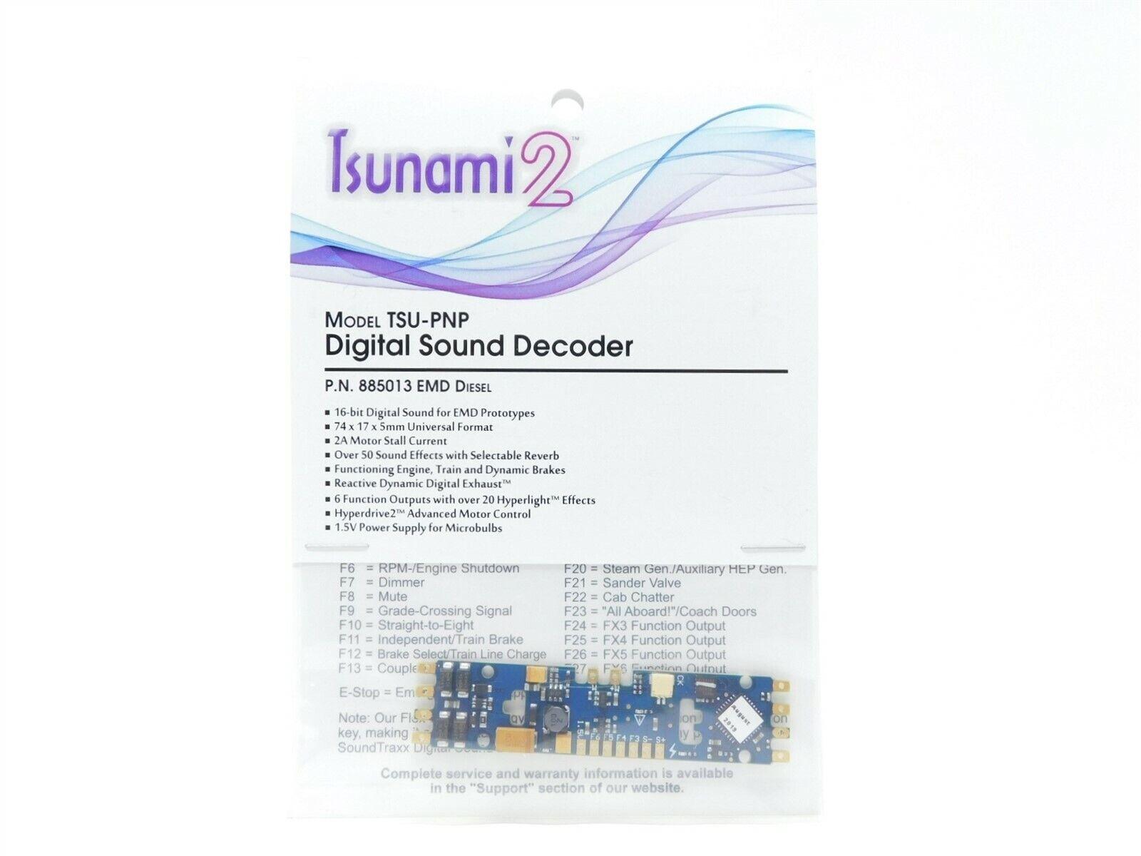 Soundtraxx {885019} Ver 1.2 TSU-4400 4 amp Tsunami2 for ALCO YANKEEDABBLER